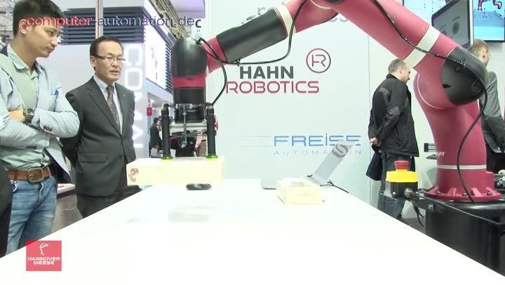 Rethink Robotics: Robots mit Kamerasystem und intelligentem Krafteinsatz