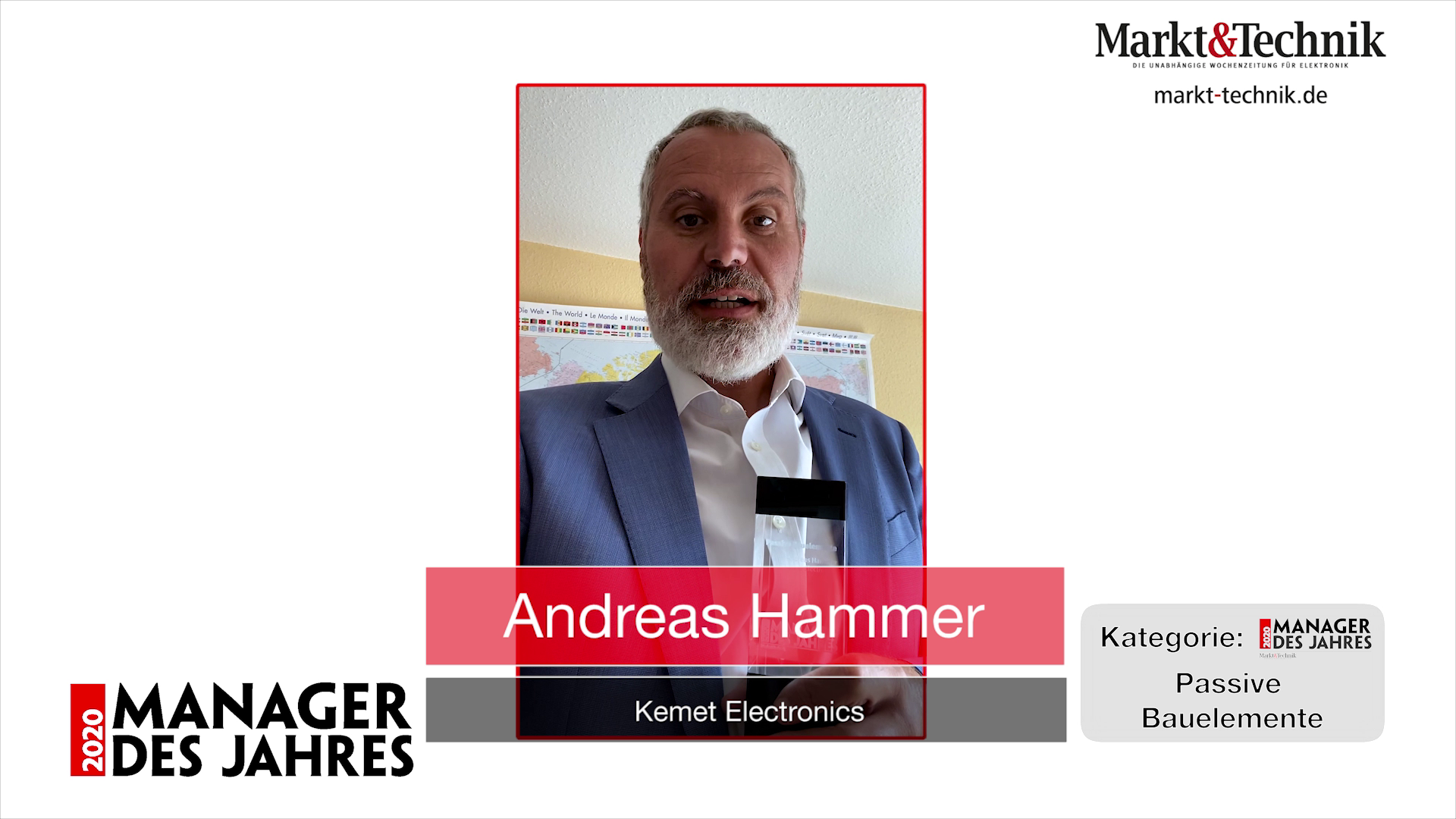 »Manager des Jahres 2020«: Andreas Hammer