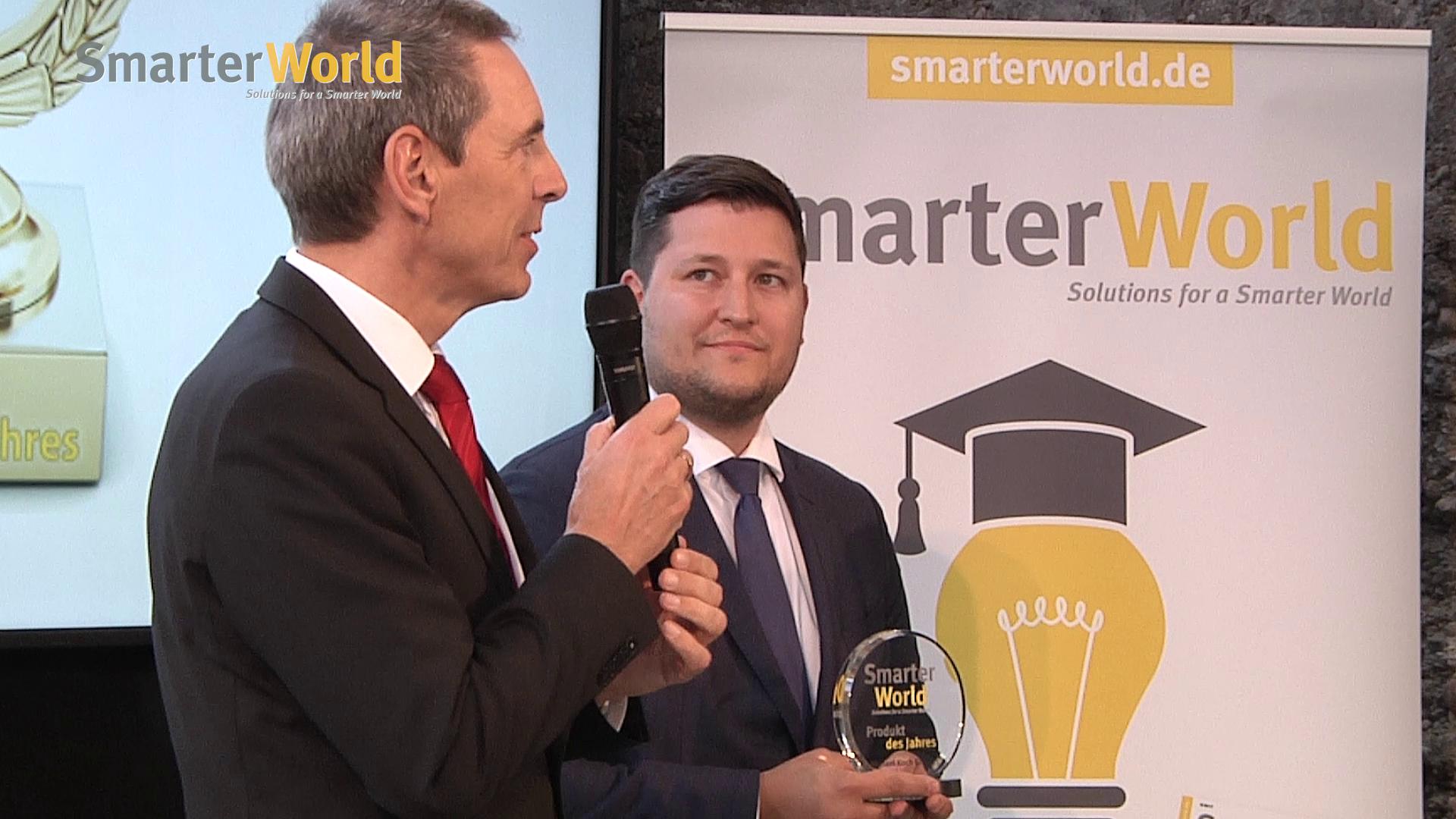 Preisverleihung »SmarterWorld Produkt des Jahres« 2017