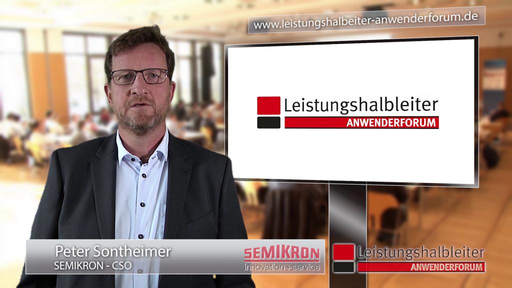 Peter Sontheimer, Anwenderforum Leistungshalbleiter 2019