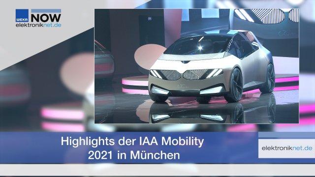 Die Mobilität der Zukunft im Fokus: Auf der IAA Mobility in München können Besucher:innen die neuesten Elektroautos, Wasserstoff-Konzepte, Fortbewegung in der Smart City und sogar Fahrräder entdecken. Die Elektronik automotive zeigt die spannendsten Weltpremieren und Highlights der Münchner IAA.
