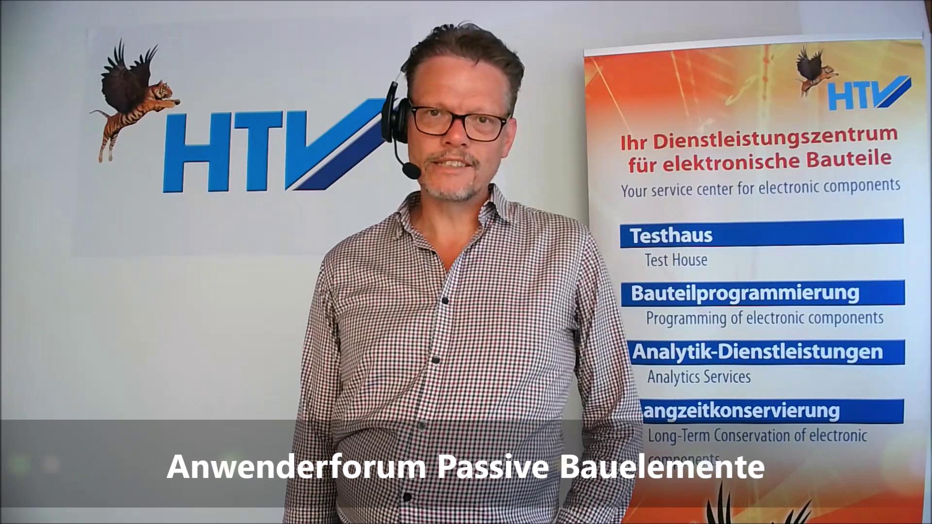 Holger Krumme zum Anwenderforum »Passive für Profis«