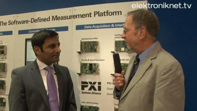 Auf der Sensor+Test trafen wir Rahman Jamal, dem Technical & Marketing Director Europe von National Instruments. Angesichts der bekannt gegebenen Zusammenarbeit mit der TUDresden wollten wir wissen, welche Bedeutung die HF-Messtechnik überhaupt für das Unternehmen hat.