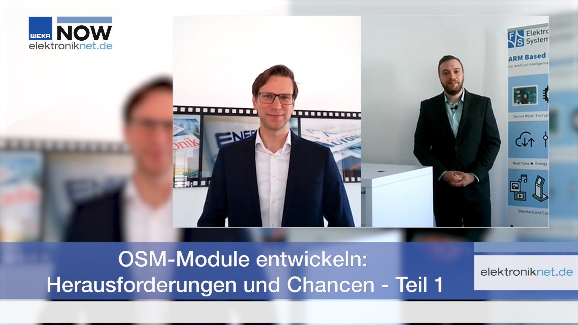 OSM-Module entwickeln: Herausforderungen und Chancen – Teil 1