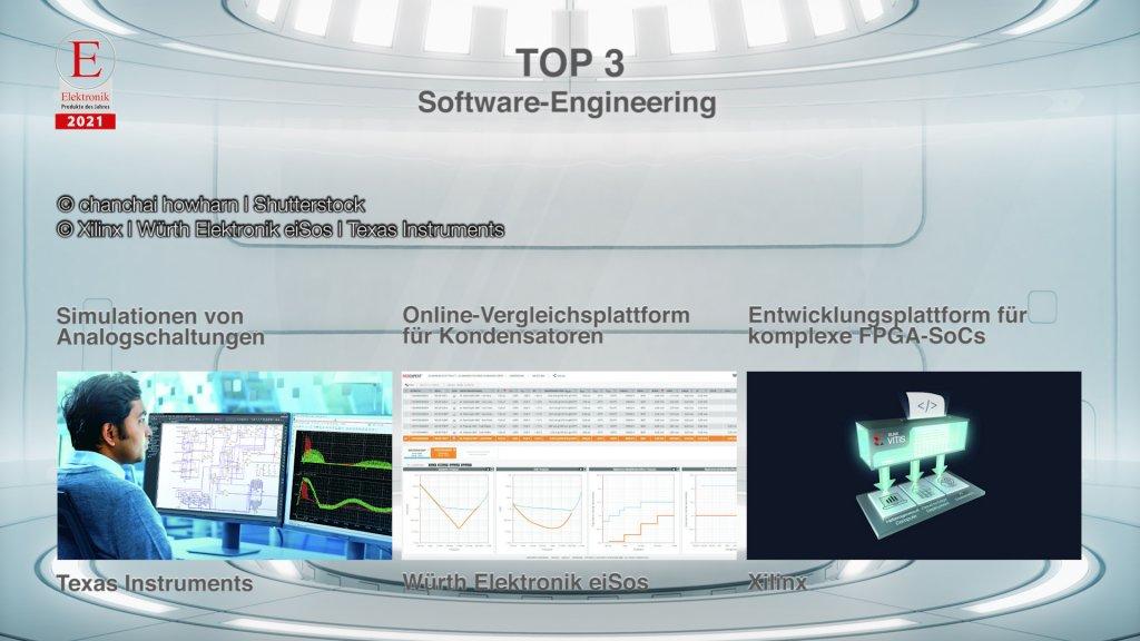 Die »Produkte des Jahres 2021« in der Rubrik »Software-Engineering«