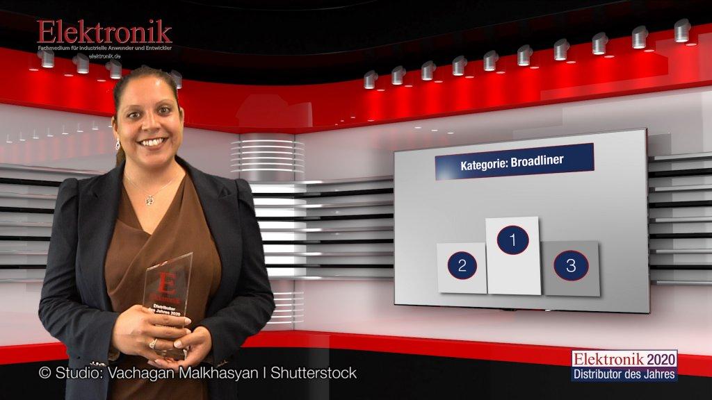 »Elektronik Distributor des Jahres 2020«: Kategorie Broadliner