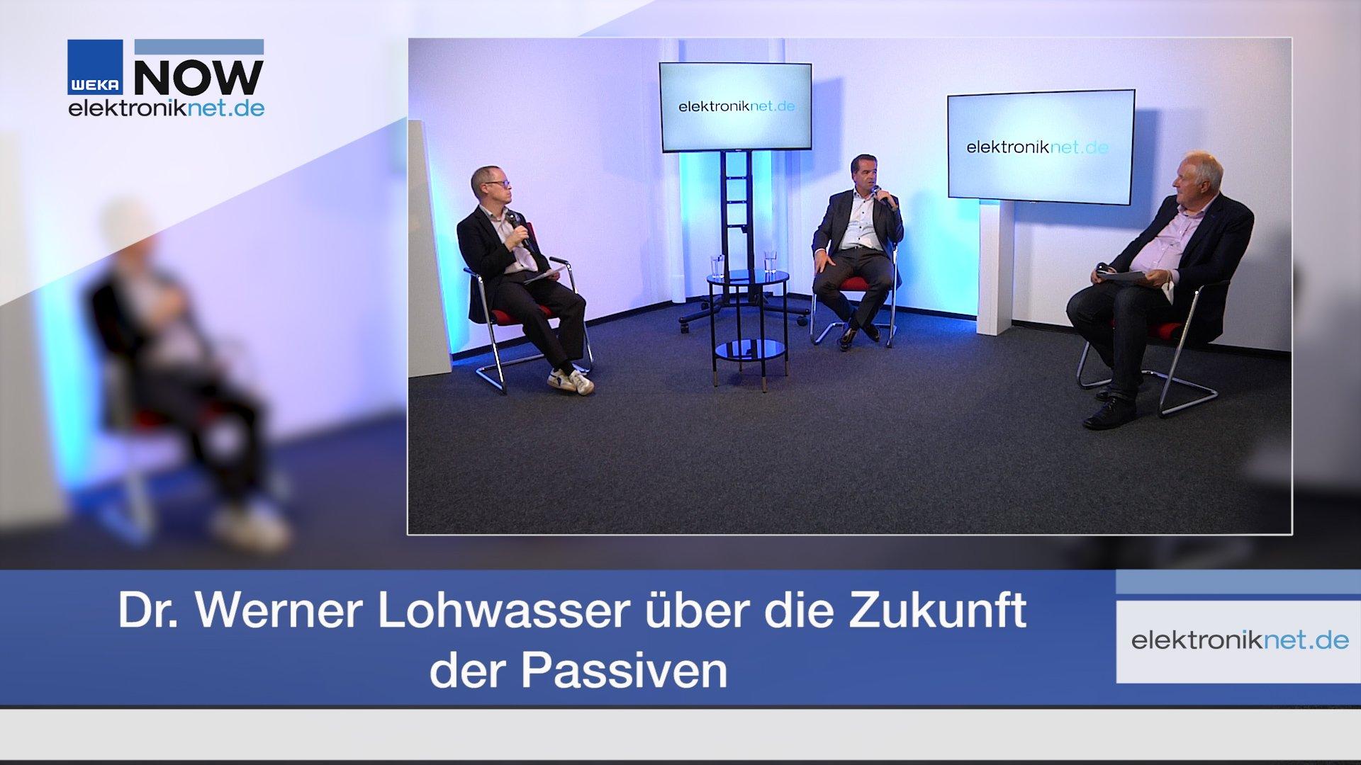 Dr. Werner Lohwasser über die Zukunft der Passiven