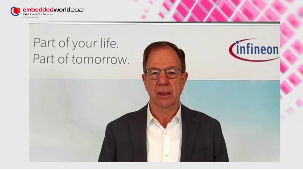 embedded world 2021: Dr. Reinhard Ploss, Infineon
