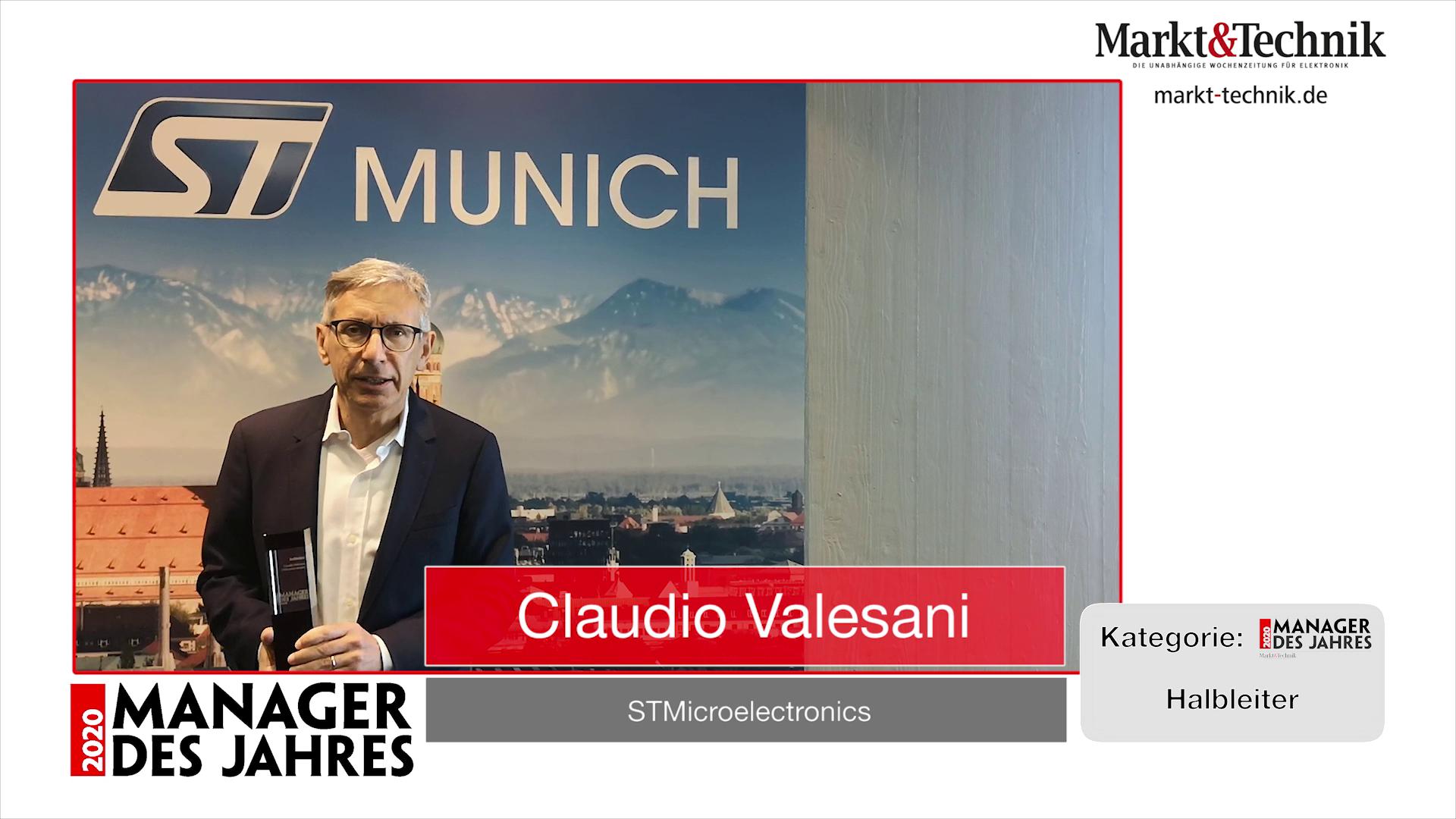 »Manager des Jahres 2020«: Claudio Valesani