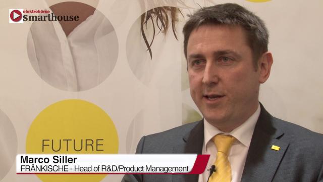 Auf der light+building 2016 zeigte und Marco Siller, Head of R&D/Produkt Management bei den Fränkischen Rohrwerken, viele interessante Neuheiten aus dem Produktsortiment des Rohrspezialisten.