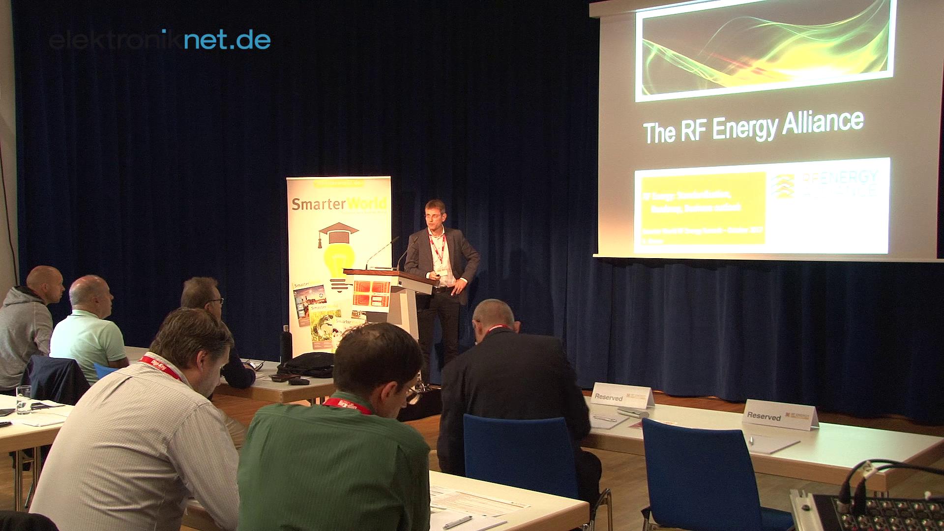 Der 1. SmarterWorld RF Energy Summit
