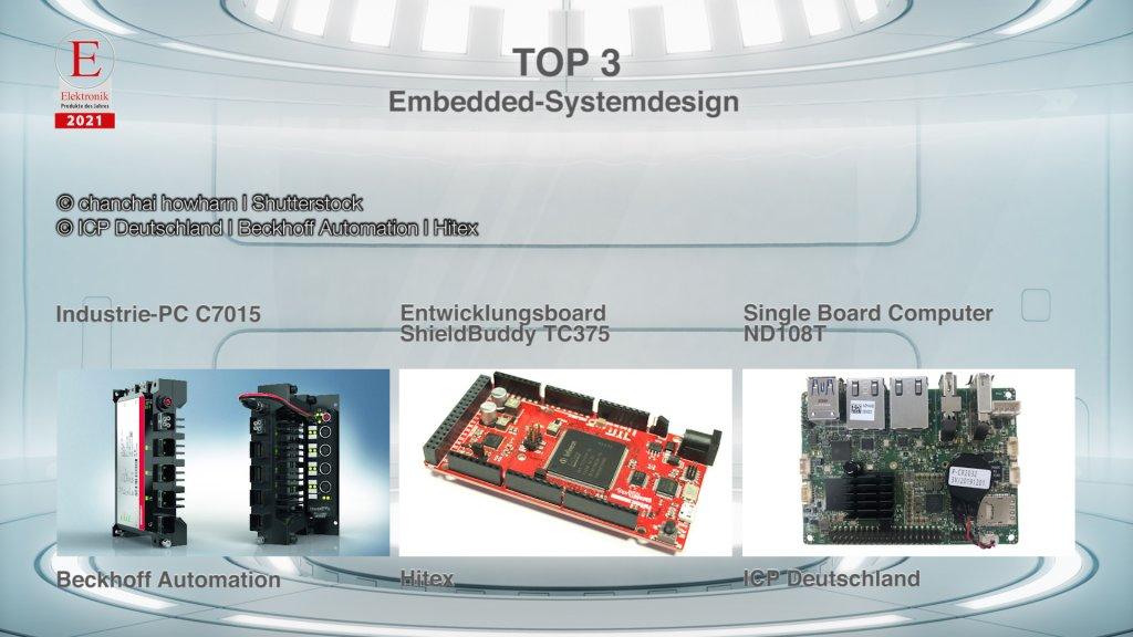 Die »Produkte des Jahres 2021« in der Rubrik »Embedded-Systemdesign«