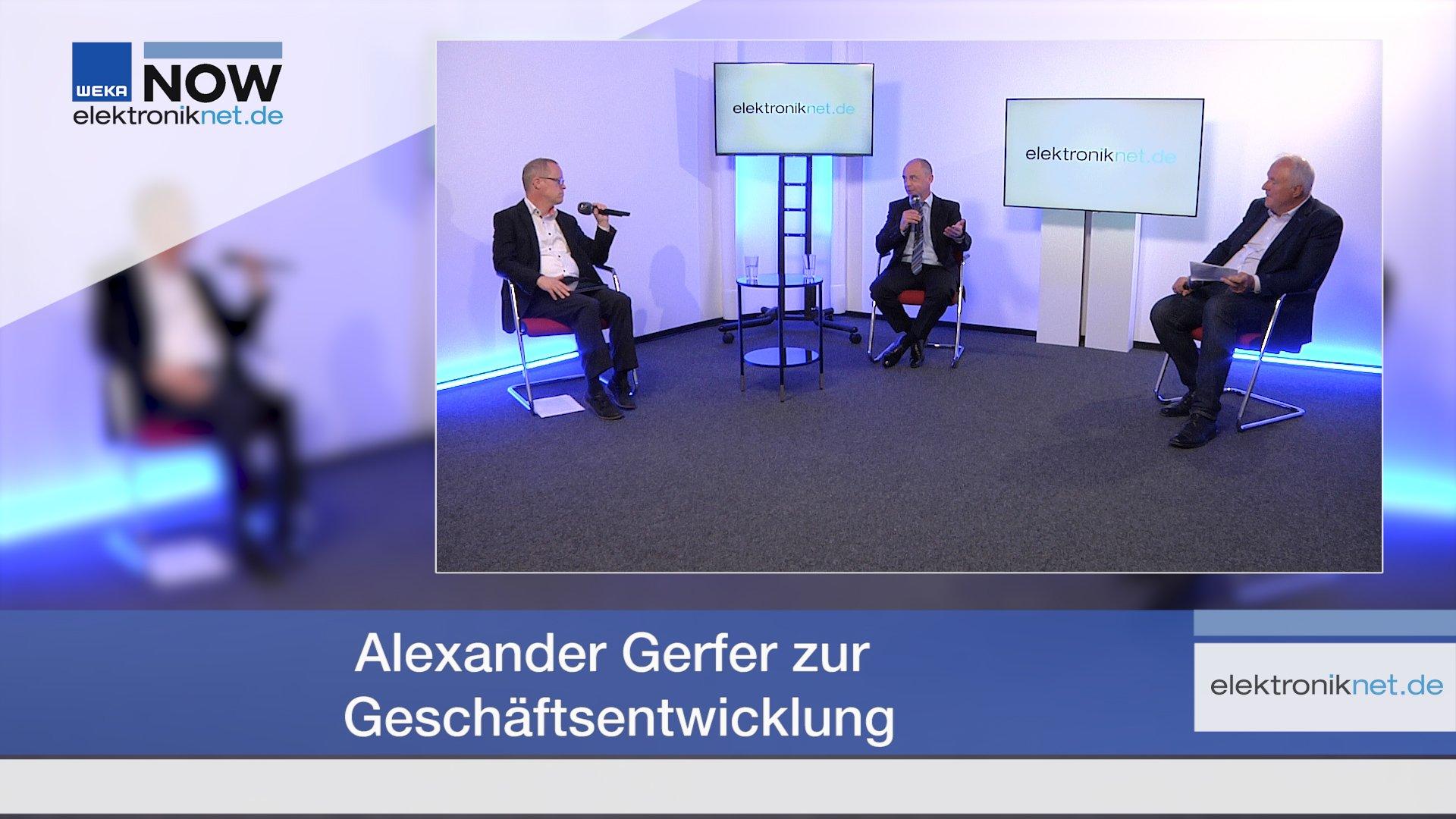 Alexander Gerfer zur Geschäftsentwicklung