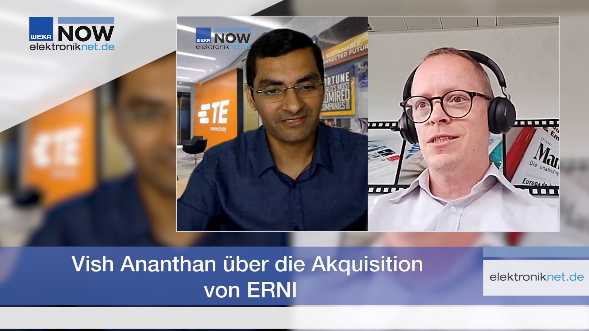 Vish Ananthan über die Akquisition von ERNI