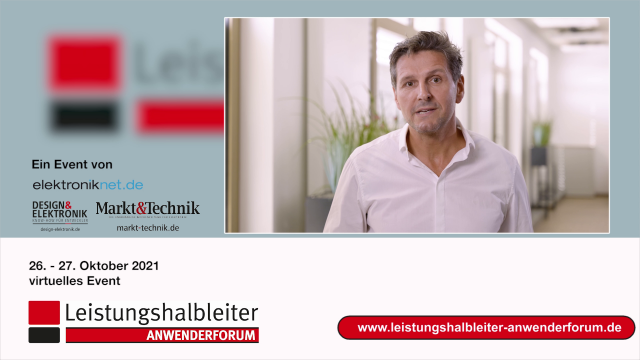 Als Division President PSS ist Andreas Urschitz verantwortlich für Silizium-MOSFETs und Galliumnitrid-FETs. Worüber er in seiner Eröffnungs-Keynote auf unserem Anwenderforum Leistungshalbleiter spricht, verrät er in diesem Video.