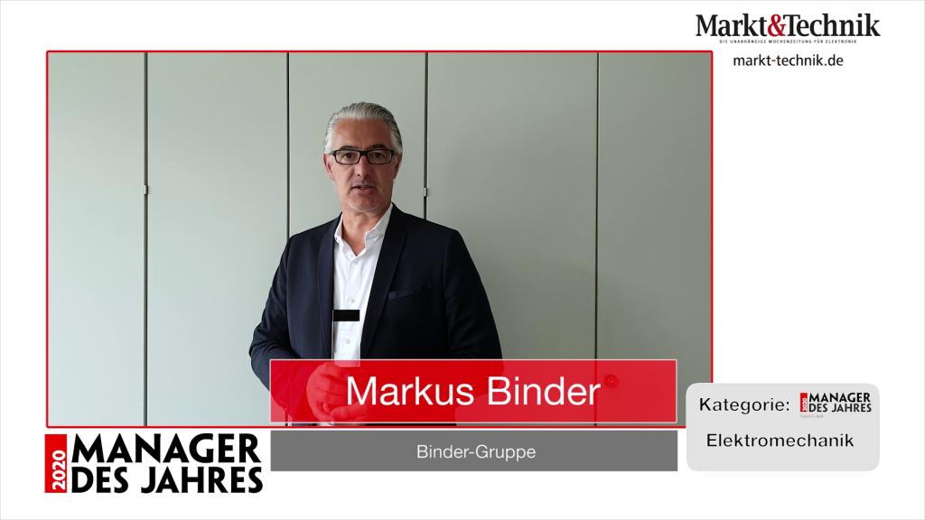 »Manager des Jahres 2020«: Markus Binder