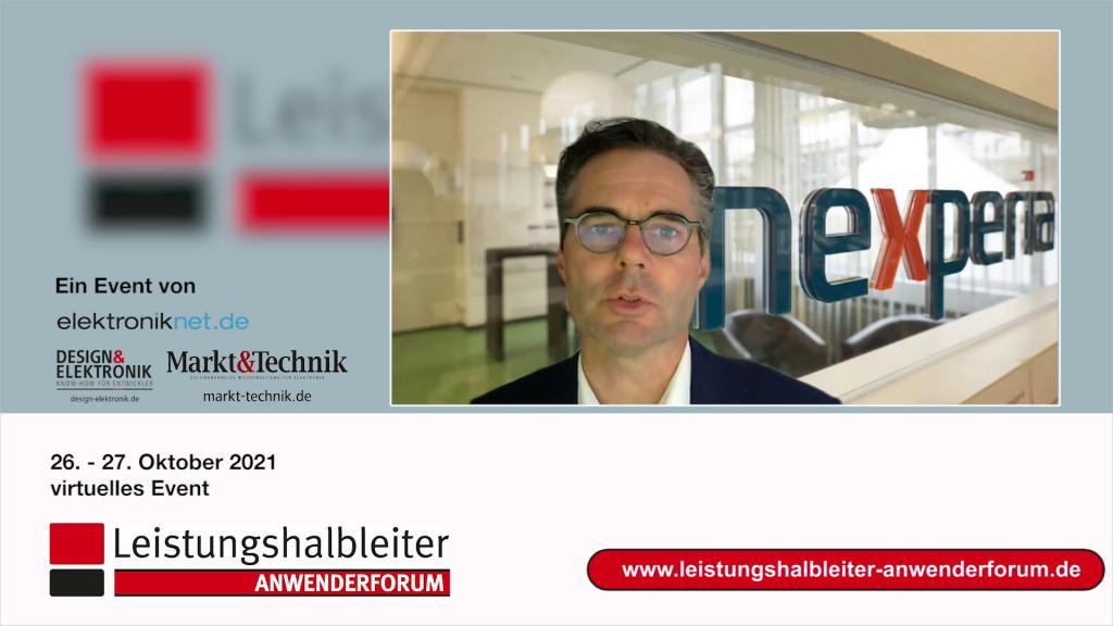 Toni Versluijs, Nexperia, auf dem Anwenderforum Leistungshalbleiter