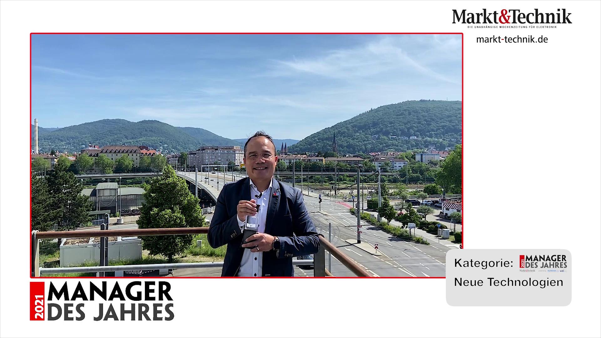 »Manager des Jahres 2021«: Luat Nguyen