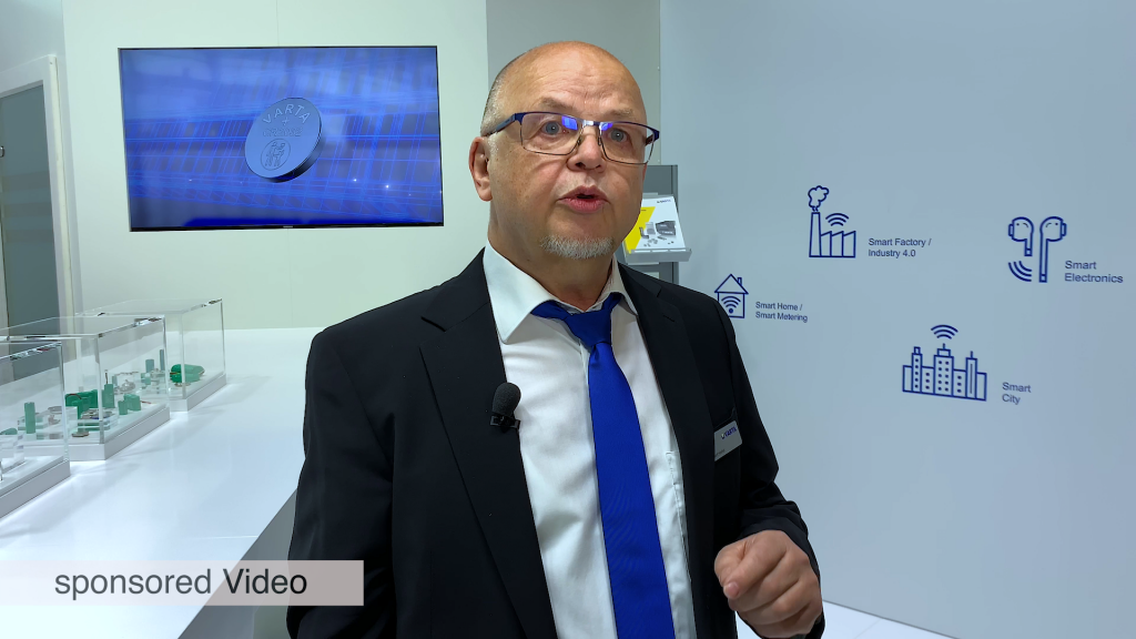 VARTA Microbattery Solutions for IoT – Embedded World 2020