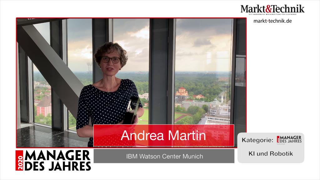 »Manager des Jahres 2020«: Andrea Martin