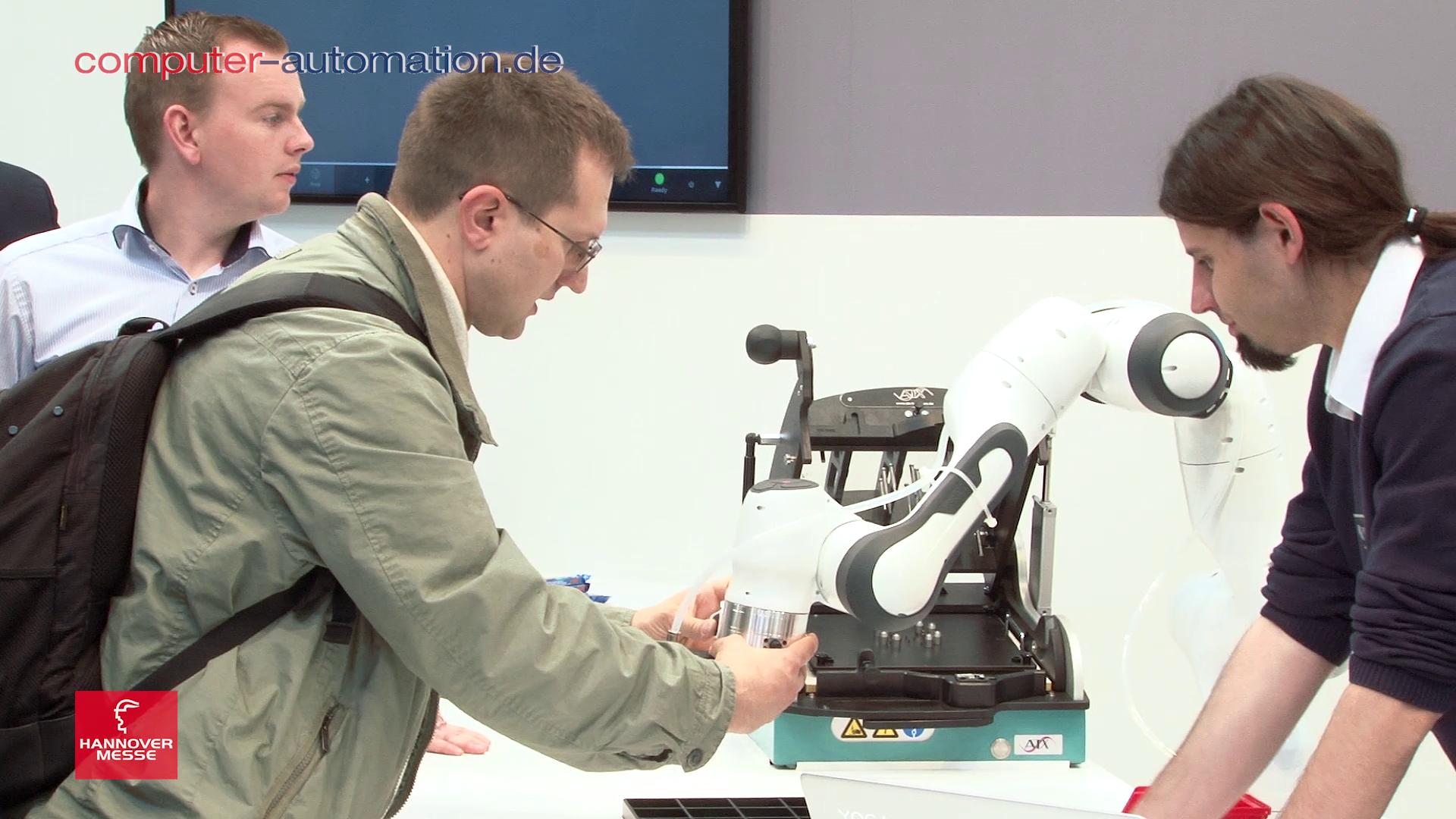 Franka Emika: »Roboter für Jedermann«