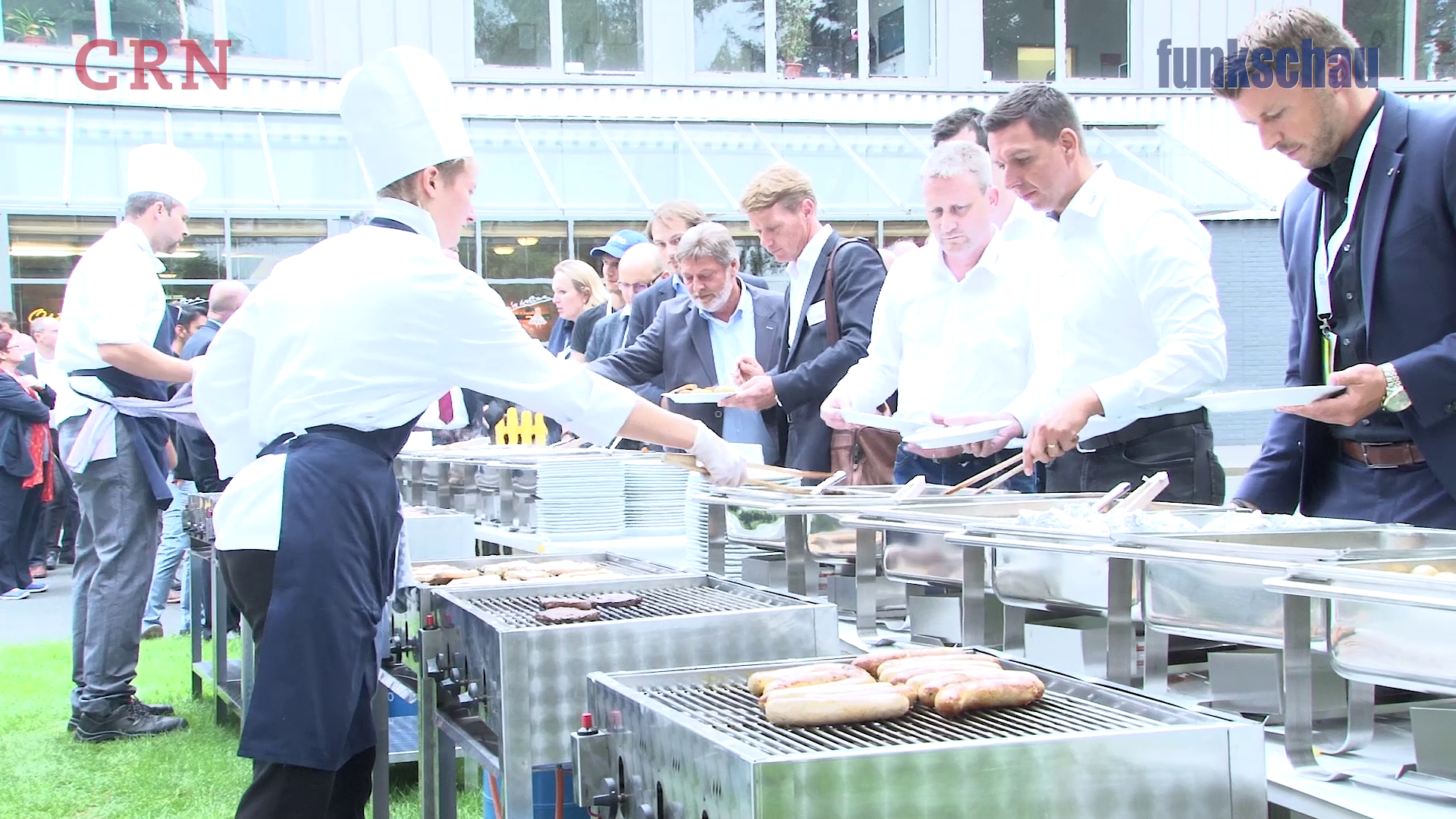 O'grillt is! Das 4. CEBIT VIP BBQ