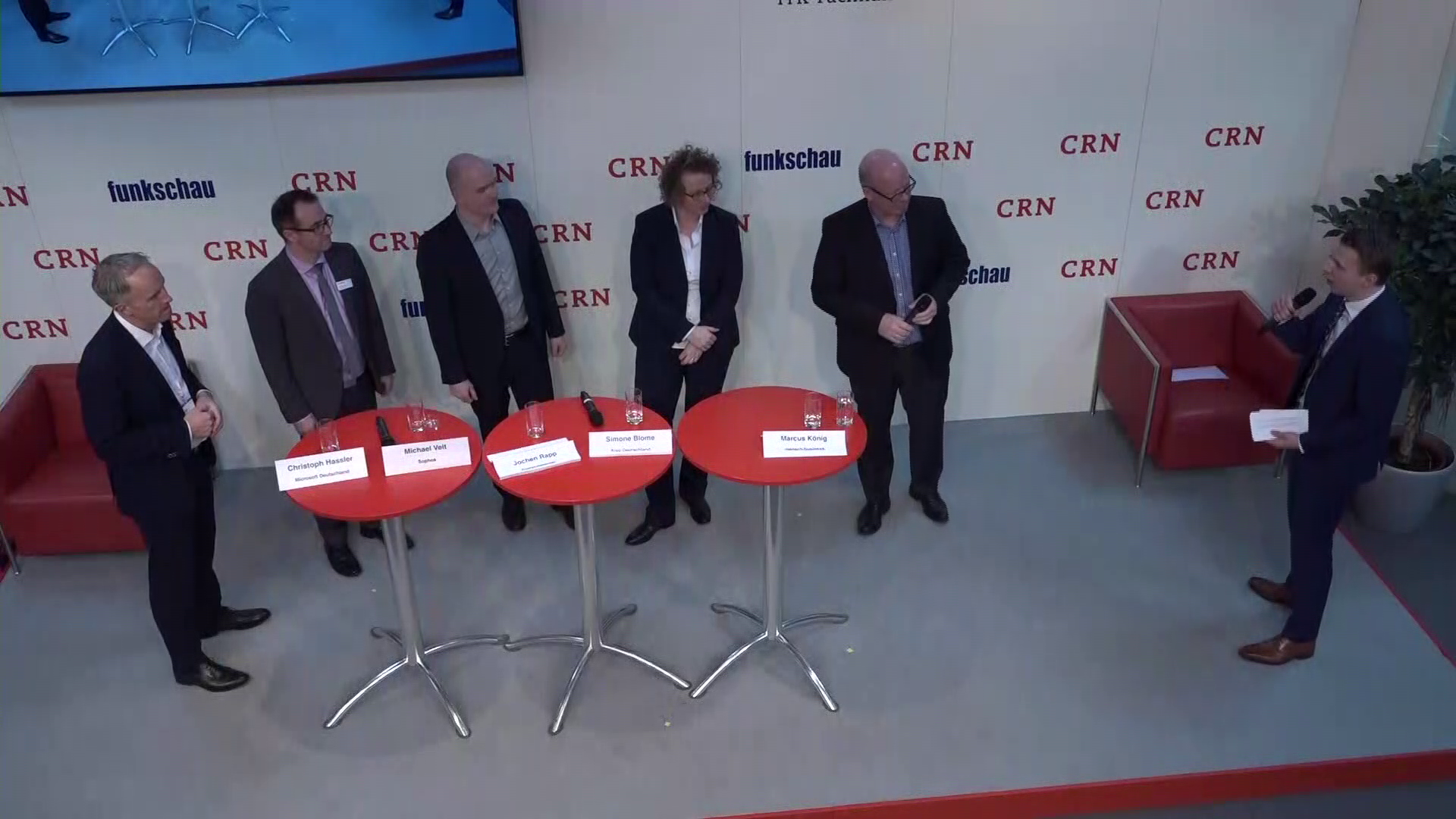 CeBIT 2017: Podiumsdiskussion Digital Workplace