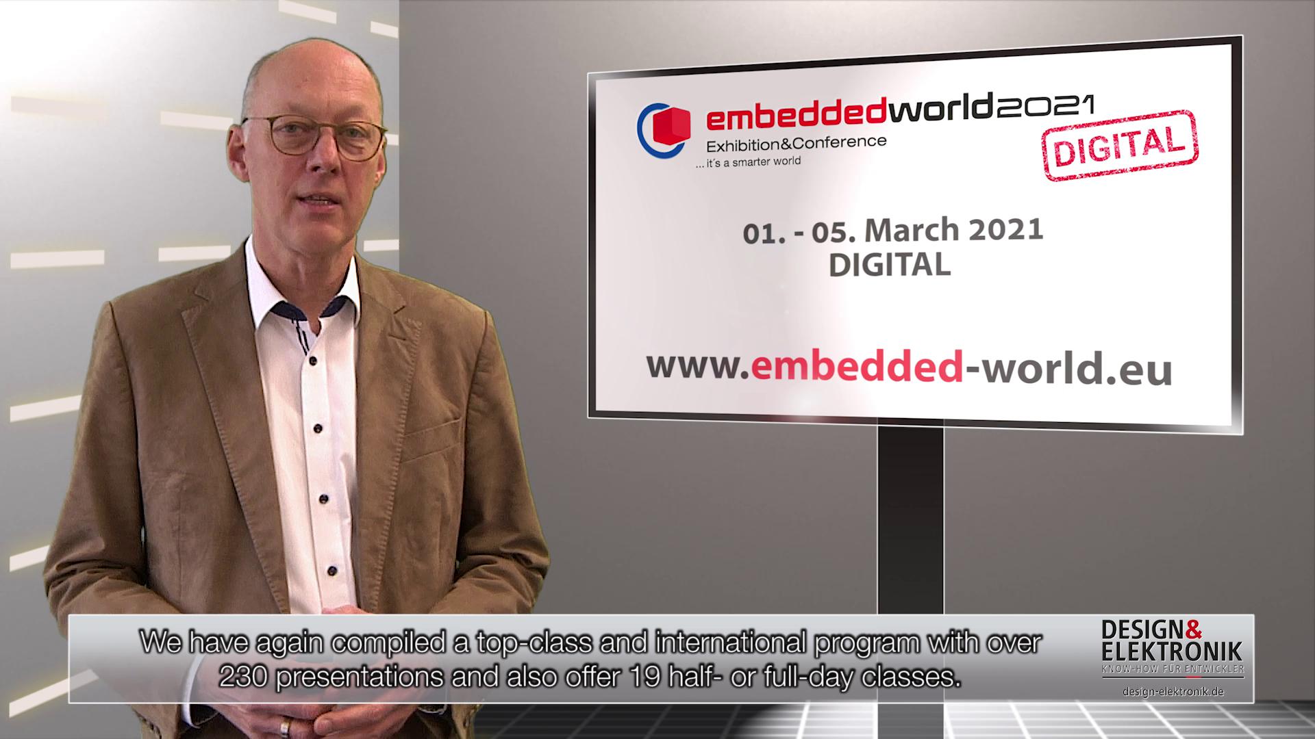 embedded world Conference 2021 DIGITAL