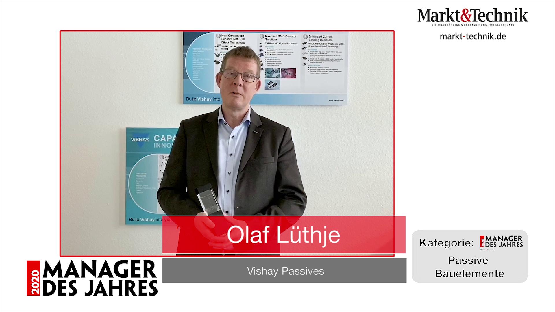 »Manager des Jahres 2020«: Olaf Lüthje