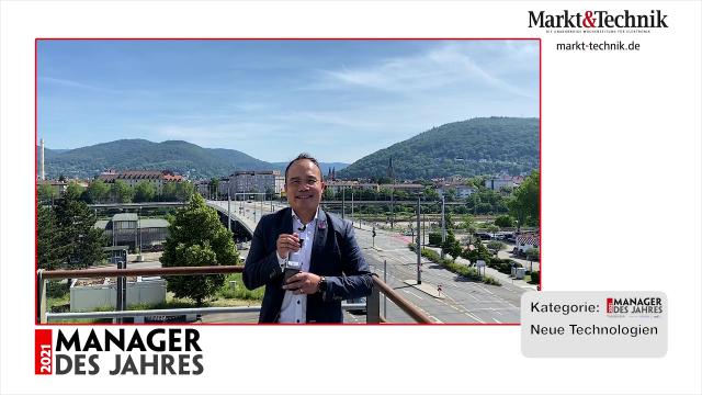 Markt&Technik »Manager des Jahres 2021« in der Kategorie Neue Technologien: Luat Nguyen, Geschäftsführer von InnovationLab. #mdj2021