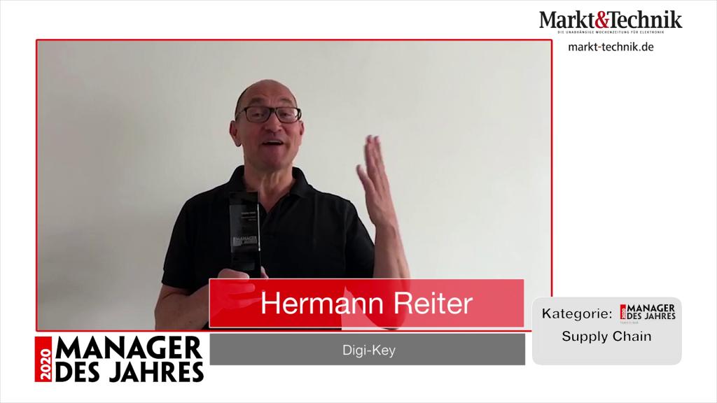 »Manager des Jahres 2020«: Hermann Reiter