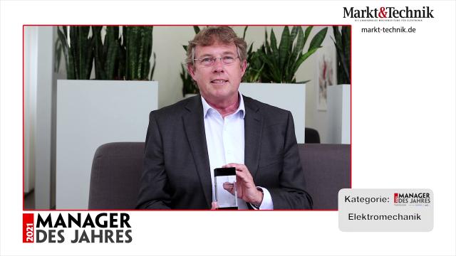 Markt&Technik »Manager des Jahres 2021« in der Kategorie Elektromechanik: Torsten Janwlecke, COO in der Geschäftsführung von Phoenix Contact. #mdj2021