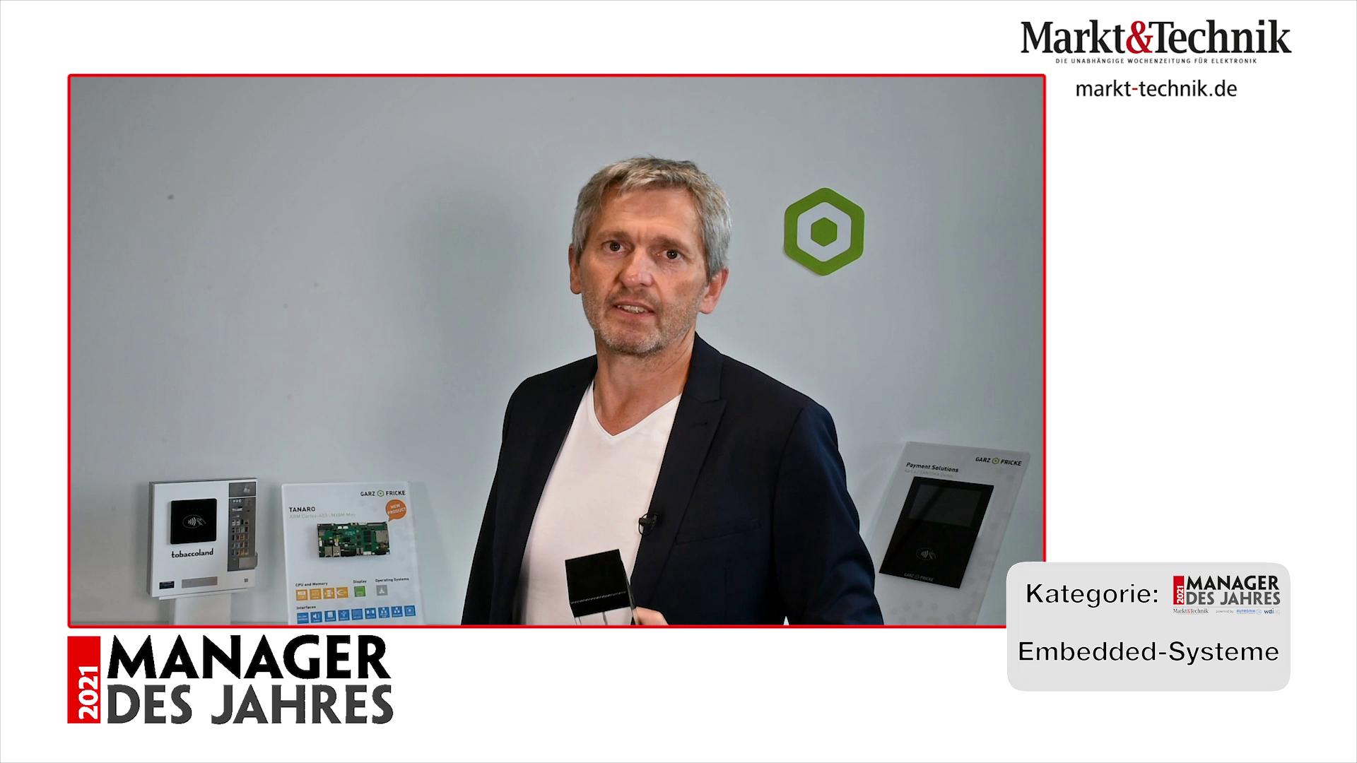 »Manager des Jahres 2021«: Matthias Fricke