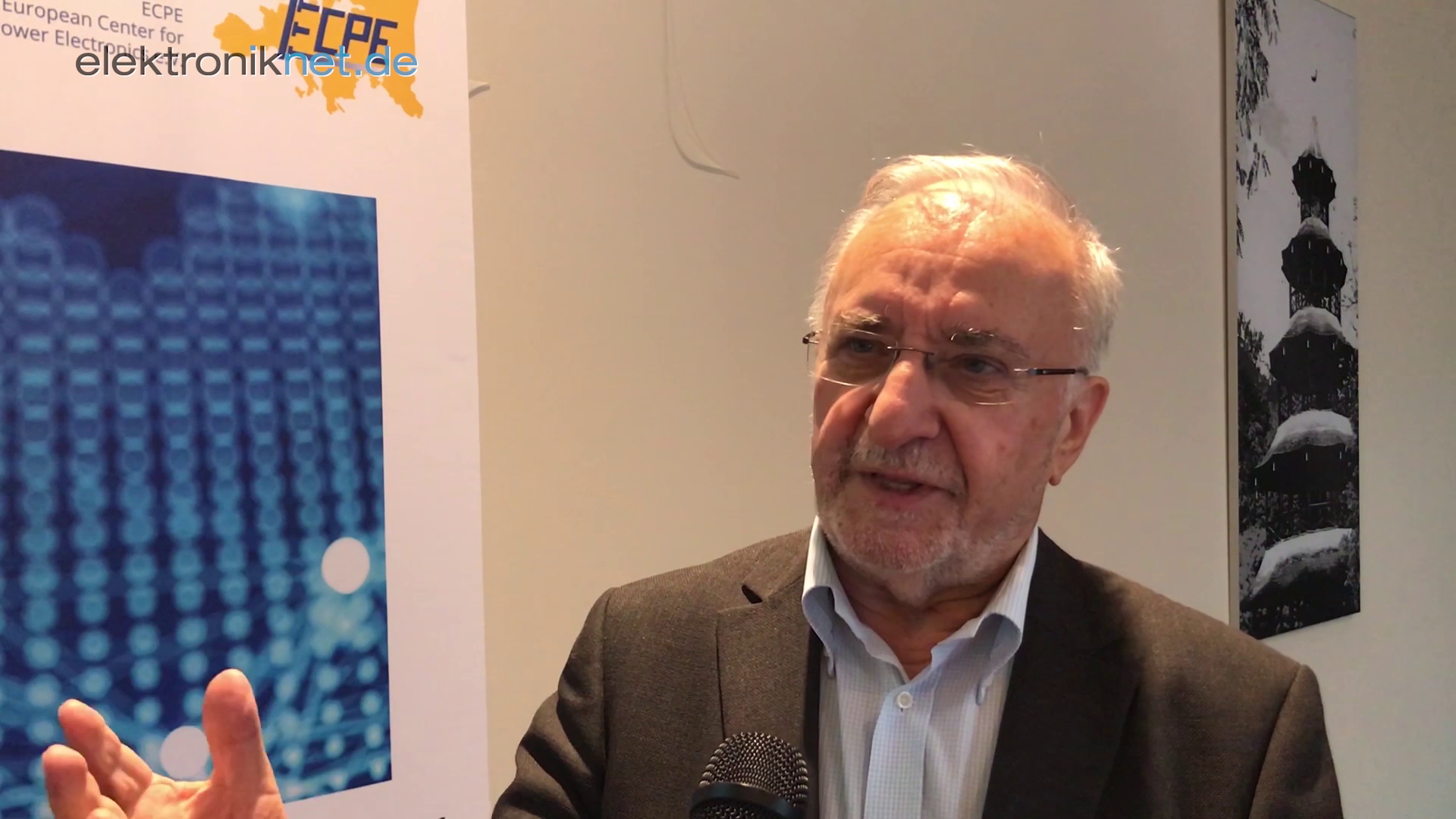Professor Leo Lorenz, Chairman ECPE